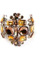 DSquared2 Embellished Bracelet - Lyst