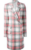 Stella McCartney Tartan Coat - Lyst