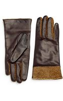 Portolano Cashmerelined Leather Gloves - Lyst
