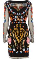 Temperley London Toledo Fitted Tulle Dress - Lyst