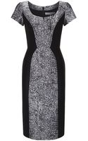 Carolina Herrera Broadtail Jacquard Dress - Lyst