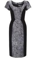 Carolina Herrera Broadtail Jacquard Dress - Lyst