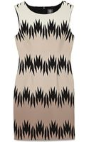 Vince Camuto Sleeveless Fitted Dress - Lyst