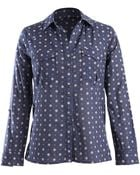 Kut Andrea Dotted Floral Print Blouse - Lyst