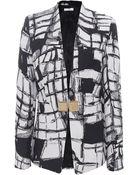 Versace Geometric Jacket - Lyst