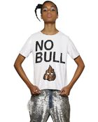 """Ashish """"No Bull"""" Sequined Cotton Top - Lyst"""
