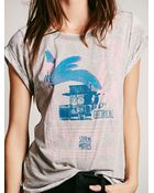 Free People We The Free Tulume Tee - Lyst