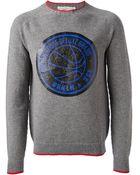 Golden Goose Deluxe Brand Printed Sweater - Lyst