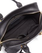 Alexander McQueen Skull Padlock Small Leather Satchel Bag - Lyst