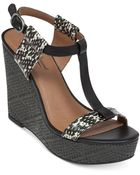 Lucky Brand Women'S Lovell Platform Wedge Sandals - Lyst