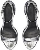 Whistles Leea Ankle Strap Sandal - Lyst