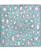 Anna Coroneo Diamonds Scarf - Lyst
