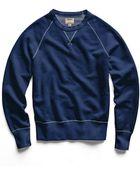 Todd Snyder Japanese Indigo Crew Sweatshirt - Lyst