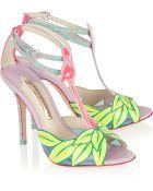 Sophia Webster Flamingo Patent-Leather Sandals - Lyst
