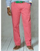 Polo Ralph Lauren Classic-Fit Pleated Chino Pant - Lyst