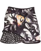 3.1 Phillip Lim Mixed Media Silk Skirt - Lyst