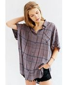 BDG Oversized Button-Down Boy Shirt - Lyst
