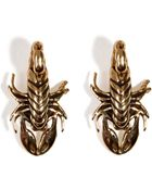 Pamela Love Brass Scorpion Stud Earrings - Lyst