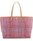 Tory Burch Kerrington Mini Square Tote Bag - Lyst