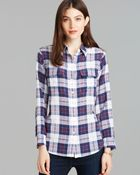 Equipment Blouse Slim Signature Engineered Audacious Plaid Print - Lyst
