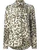 Diane von Furstenberg 'Lorlei Two' Shirt - Lyst