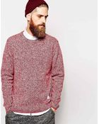 Penfield Sweater With Melange Knit - Lyst