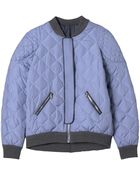 Rebecca Taylor Quilted Puffer Bomber - Lyst