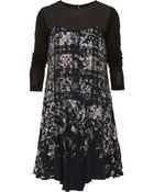 Tibi Printed Crepe Dress - Lyst