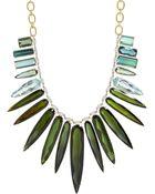 Irene Neuwirth Diamond Collection Gemstone Necklace - Lyst