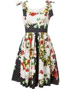 Dolce & Gabbana Multi Print Dress - Lyst
