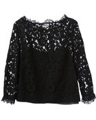Alice By Temperley Floral Lace Top - Lyst
