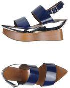 Marni Sandals - Lyst