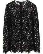 Valentino Lace Top - Lyst