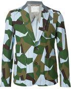 Sacai Camouflage Print Jacket - Lyst