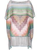 Missoni Mare Crochet-Knit Tunic - Lyst