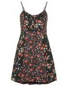 Topshop Floral Mix Print Dress By Band Of Gypsies - Lyst