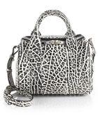 Alexander Wang Rockie Duffel Bag/Silvertone - Lyst
