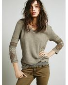 Free People Cuffed Tunic - Lyst