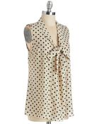 Poema South Florida Spree Top In Dotted Ink - Lyst