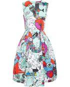 Mary Katrantzou Astere Printed Dress - Lyst
