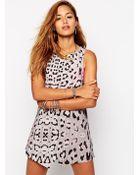 One Teaspoon Matisse Dress In Leopard Print - Lyst