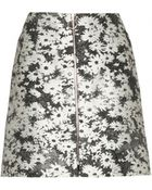 Stella McCartney Jodie Floral-Jacquard Miniskirt - Lyst