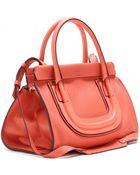 Chloé Everston Leather Shoulder Bag - Lyst