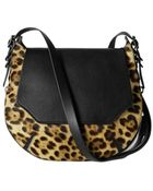 Rag & Bone Leopard Small Bradbury Hobo - Lyst