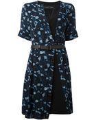Proenza Schouler Belted Dress - Lyst