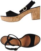 Diane von Furstenberg Sandals - Lyst