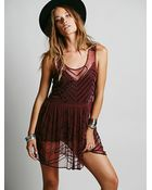 Intimately Womens Embellished Slip - Lyst