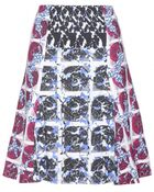 Peter Pilotto Olivia Printed Skirt - Lyst