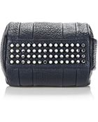 Alexander Wang Rockie In Pebbled Neptune With Rhodium - Lyst