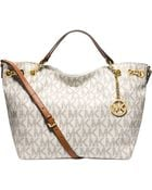 Michael Kors Michael Jet Set Chain Item Large Gather Shoulder Tote - Lyst